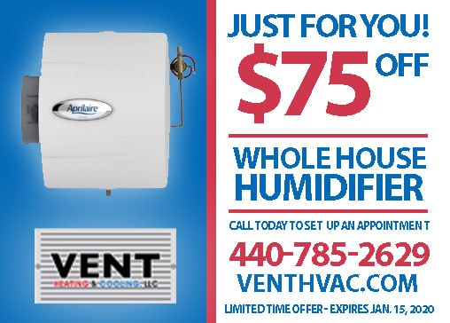 whole house humidifier Cleveland
